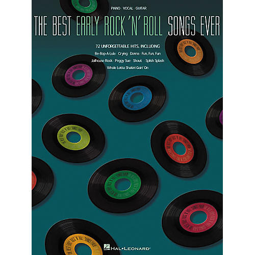 Hal Leonard The Best Early Rock'N'Roll Songs Ever Piano/Vocal/Guitar Songbook