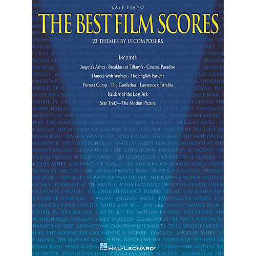 Hal Leonard The Best Film Scores For Easy Piano