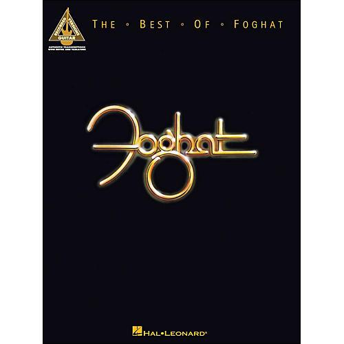 Hal Leonard The Best Of Foghat Guitar Tab Songbook