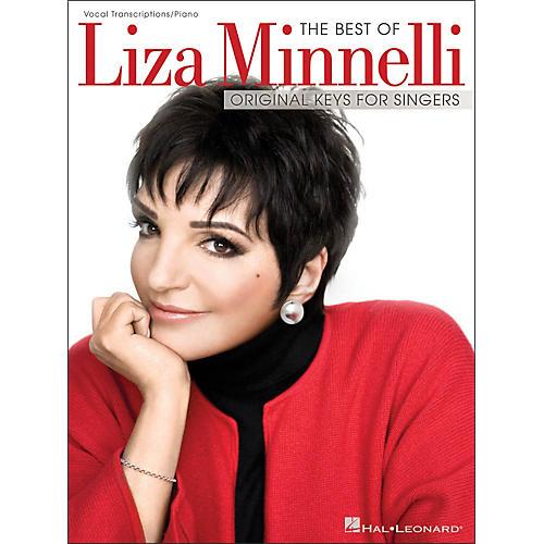 Hal Leonard The Best Of Liza Minnelli - Original Keys for Singers (Vocal / Piano)
