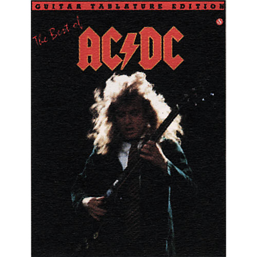 Music Sales The Best of AC/DC Guitar Tab Book