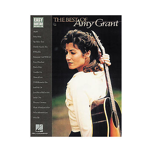 Hal Leonard The Best of Amy Grant Easy Guitar Book