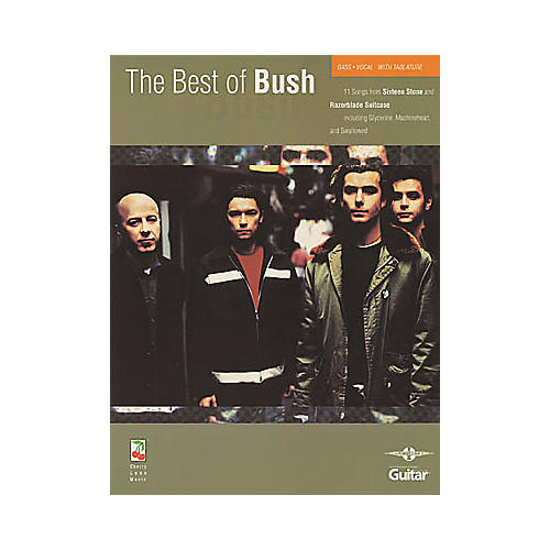 Cherry Lane The Best of Bush Book