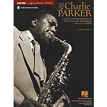 Hal Leonard The Best of Charlie Parker Signature Licks Saxophone Series Softcover with CD Written by Mark Voelpel