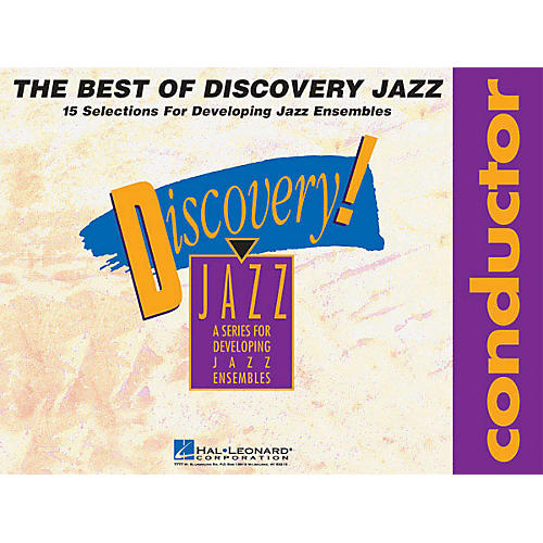 Hal Leonard The Best of Discovery Jazz (Conductor) Jazz Band Level 1-2 Composed by Various