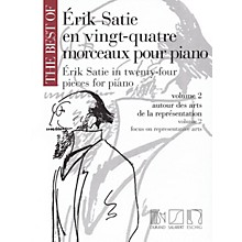 Editions Durand The Best of Erik Satie (24 Pieces for Piano, Volume 2) MGB Series