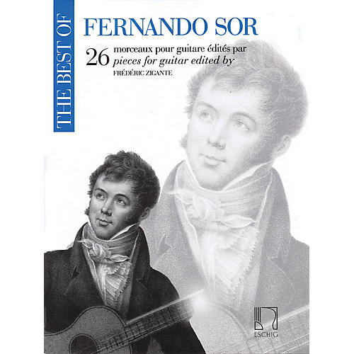 Durand The Best of Fernando Sor (26 Pieces for Guitar) Editions Durand Series Softcover