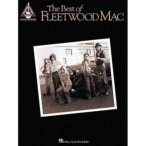 Hal Leonard The Best of Fleetwood Mac Guitar Tab Songbook