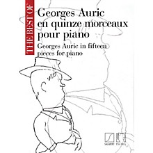 Editions Salabert The Best of Georges Auric (In 15 Pieces for Piano) MGB Series Softcover
