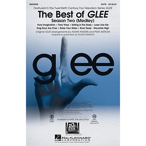 Hal Leonard The Best of Glee - Season Two (Medley) ShowTrax CD by Glee Cast Arranged by Adam Anders