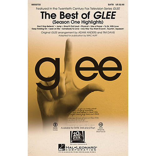 Hal Leonard The Best of Glee (Season One Highlights) ShowTrax CD by Glee Cast Arranged by Adam Anders
