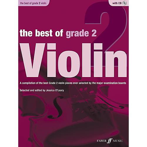 Faber Music LTD The Best of Grade 2 Violin Book & CD