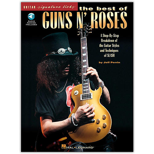 Hal Leonard The Best of Guns N' Roses Guitar Signature Licks (Book/Online Audio)