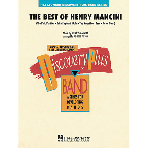 Hal Leonard The Best of Henry Mancini - Discovery Plus Concert Band Series Level 2 arranged by Johnnie Vinson