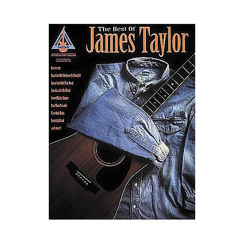 Hal Leonard The Best of James Taylor Guitar Tab Book