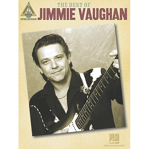 Hal Leonard The Best of Jimmie Vaughan Guitar Tab Songbook