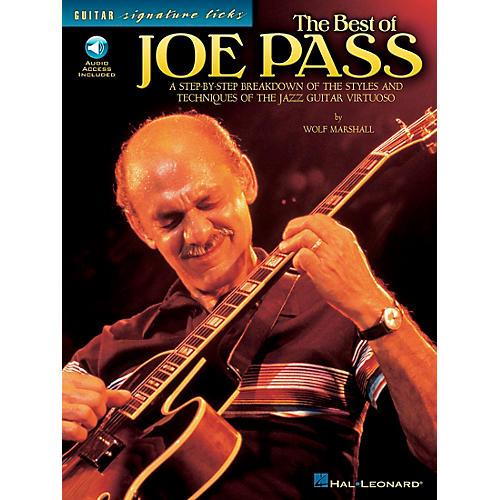 Hal Leonard The Best of Joe Pass Guitar Signature Licks Book with CD