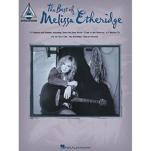 Hal Leonard The Best of Melissa Etheridge Guitar Tab Songbook