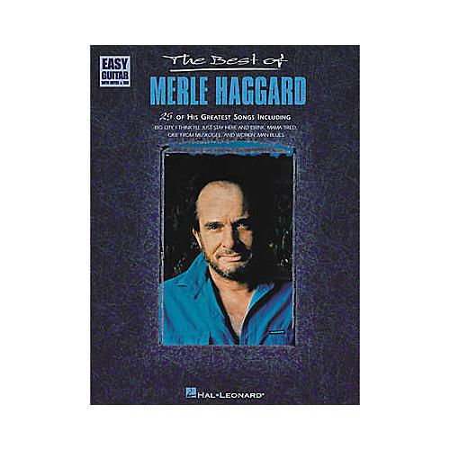 Hal Leonard The Best of Merle Haggard Book