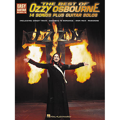 Hal Leonard The Best of Ozzy Osbourne Easy Guitar Tab Songbook