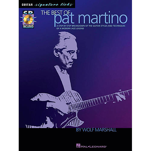 Hal Leonard The Best of Pat Martino Guitar Signature Licks Book with CD