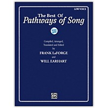 Alfred The Best of Pathways of Song Low Voice Book & CDs