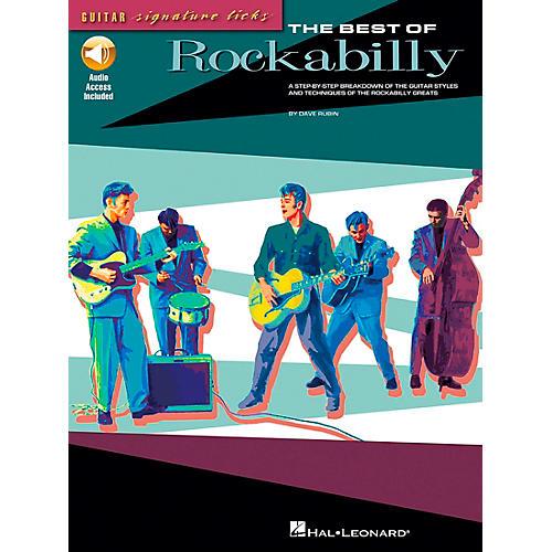 Hal Leonard The Best of Rockabilly (Book/CD)