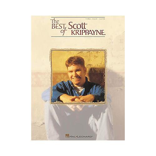 Hal Leonard The Best of Scott Krippayne Piano/Vocal/Guitar Artist Songbook