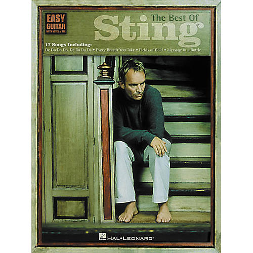 Hal Leonard The Best of Sting Easy Guitar Book