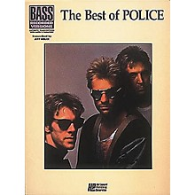 Hal Leonard The Best of The Police Bass Guitar Tab Songbook