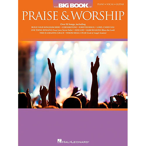 Hal Leonard The Big Book Of Praise & Worship for Piano/Vocal/Guitar