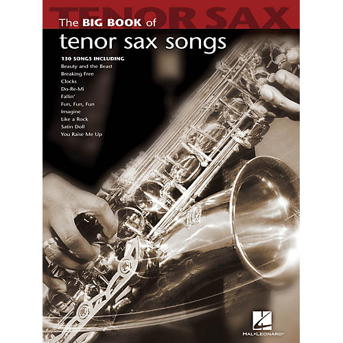 Hal Leonard The Big Book Of Tenor Sax Songs
