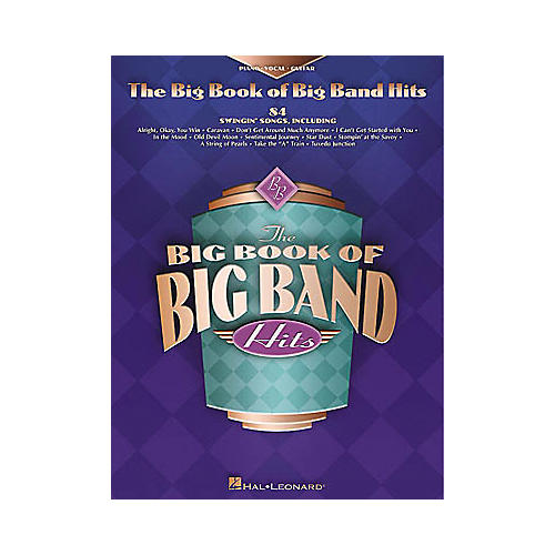 Hal Leonard The Big Book of Big Band Hits Piano, Vocal, Guitar Songbook