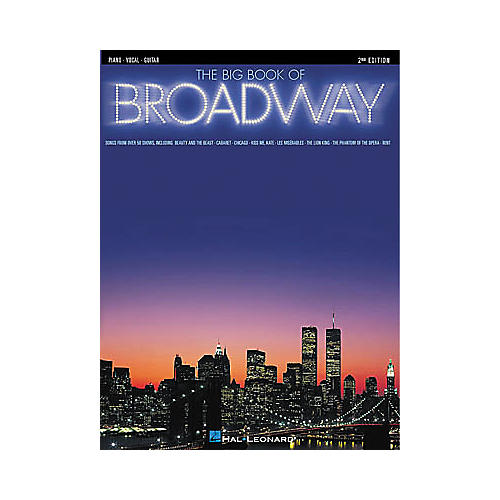 Hal Leonard The Big Book of Broadway - 3rd Edition Piano/Vocal/Guitar Songbook