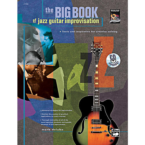 Alfred The Big Book of Jazz Guitar Improvisation Book & CD