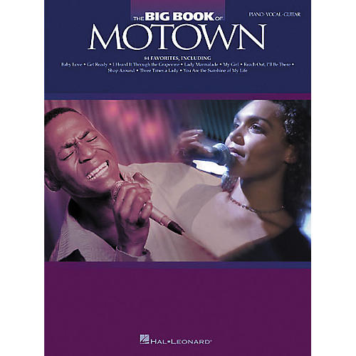 Hal Leonard The Big Book of Motown Songbook