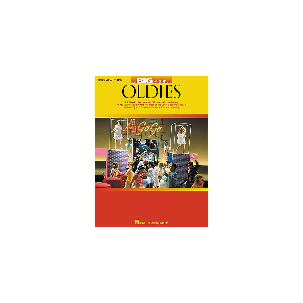 Hal Leonard The Big Book of Oldies Piano, Vocal, Guitar Songbook