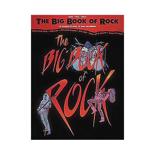 Hal Leonard The Big Book of Rock Piano, Vocal, Guitar Songbook