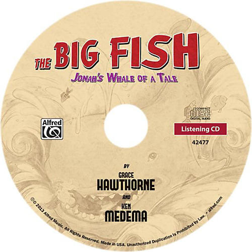 Alfred The Big Fish - Christian Elementary Musical Bulk CD 10-pack