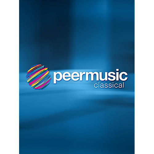 Peer Music The Big Gesture (for Oboe, Bass Clarinet and Percussion) Peermusic Classical Series by Jerome Kitzke