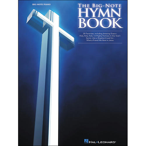 Hal Leonard The Big Note Piano Hymn Book
