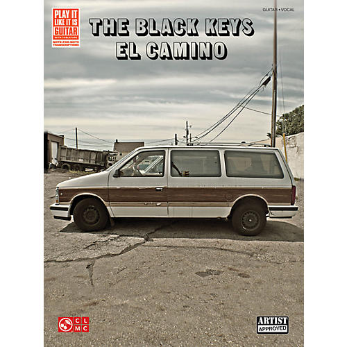 Cherry Lane The Black Keys El Camino Guitar Tab Songbook