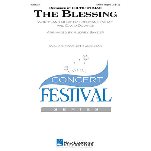 Hal Leonard The Blessing SSAA A CAPPELLA by Celtic Woman Arranged by Audrey Snyder
