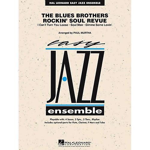 Hal Leonard The Blues Brothers Rockin' Soul Revue Jazz Band Level 2