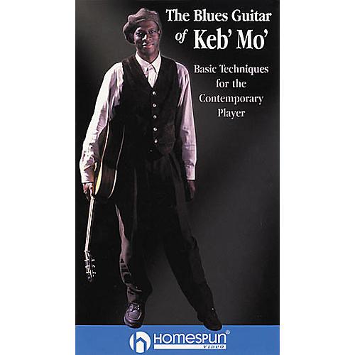 Hal Leonard The Blues Guitar of Keb' Mo' Video