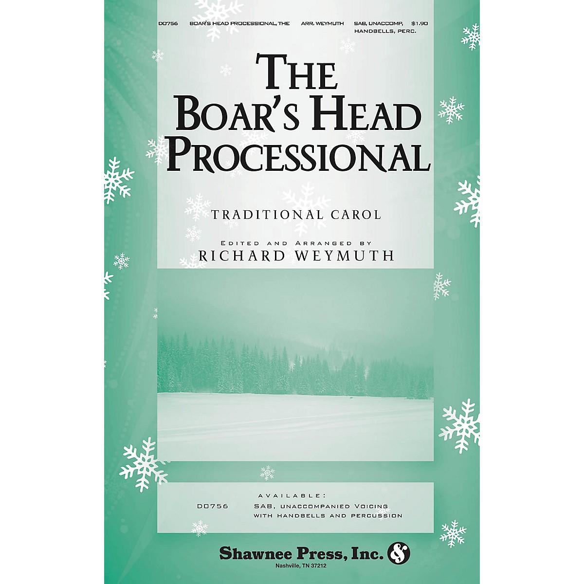 Shawnee Press The Boars Head Processional SAB Arranged by Richard Weymuth