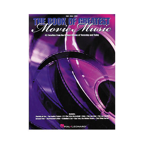 Hal Leonard The Book of Greatest Movie Music Piano, Vocal, Guitar Songbook