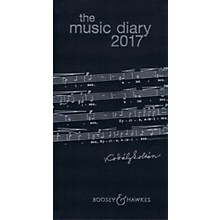 Boosey and Hawkes The Boosey & Hawkes Music Diary 2017 Boosey & Hawkes Series Softcover