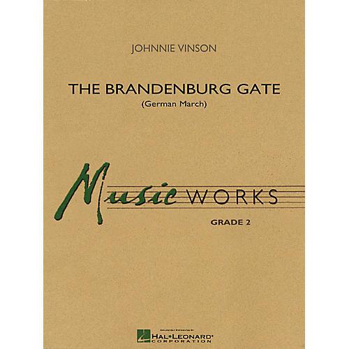 Hal Leonard The Brandenburg Gate (German March) Concert Band Level 2 Composed by Johnnie Vinson