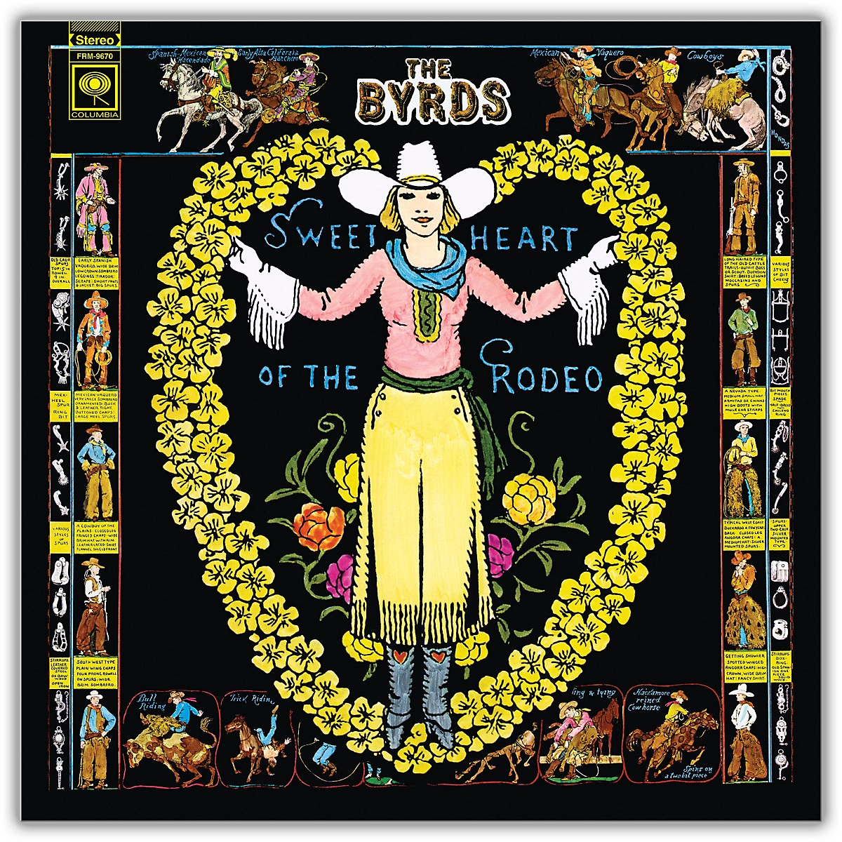 RED The Byrds - Sweetheart of the Rodeo